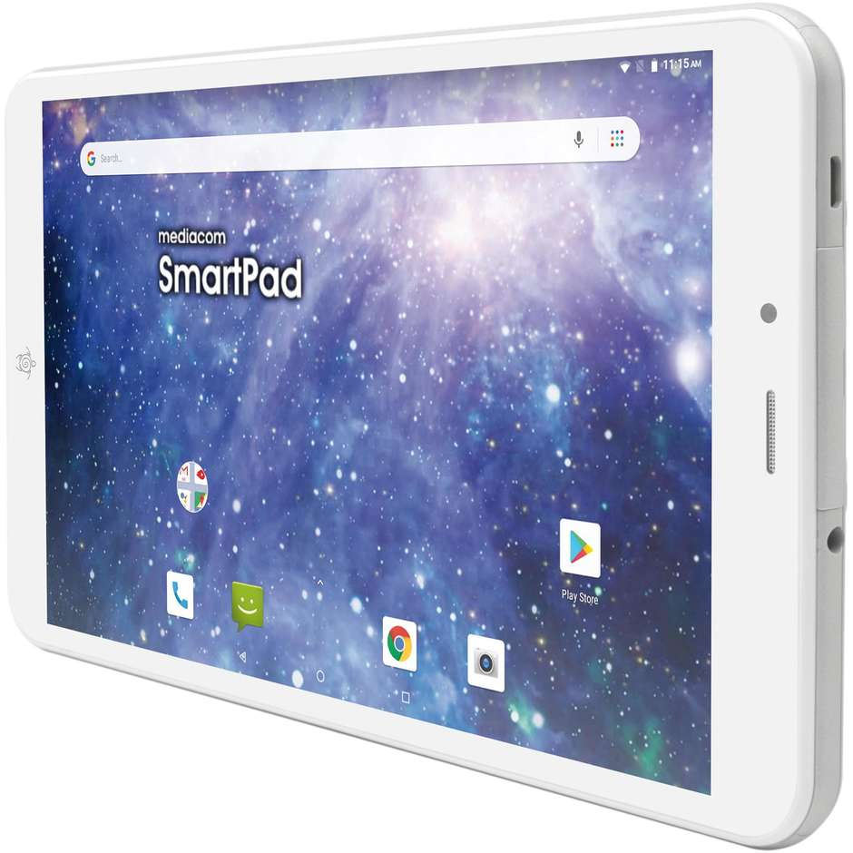 "Mediacom M-SP8AY SmartPad iyo 8 Tablet 8"" Ram 1 GB memoria 8 GB colore bianco"