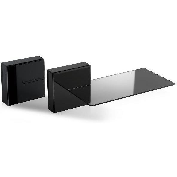 Meliconi 480521BA Ghost Cube Shelf black