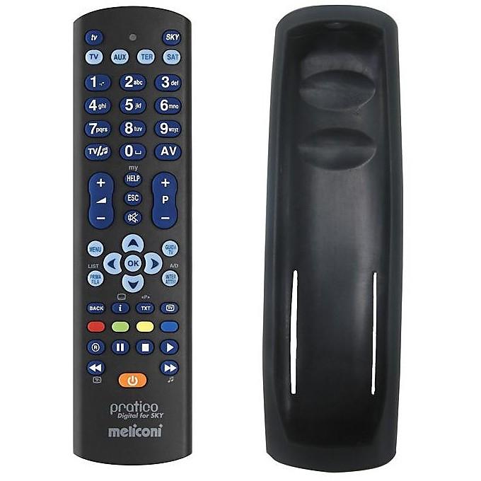Meliconi 807180 Pratico Digital For Sky telecomando universale max 4 apparecchi