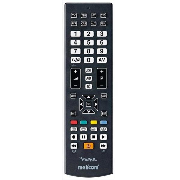 Meliconi 808002 Fully 8 RC telecomando universale pre-programmato