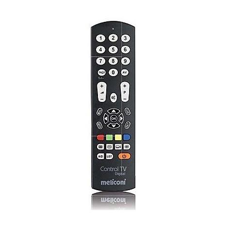 Meliconi 808032 Control TV Digital telecomando universale preprogrammato