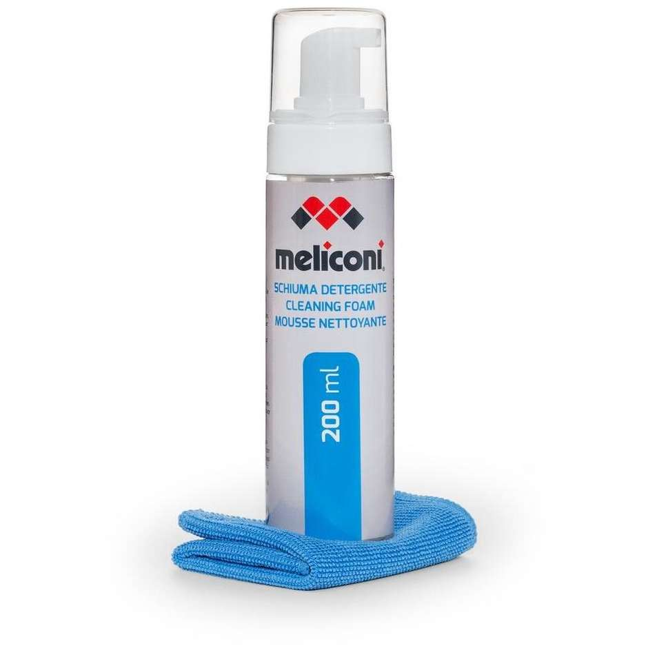 Meliconi C200 Foam Kit detergente 200 ml + panno per pulizia Tv monitor 621013BA