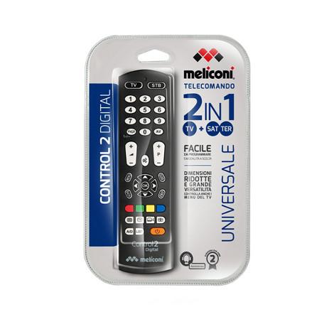 Meliconi Control 2 Digital telecomando universale 2 apparecchi comandabili