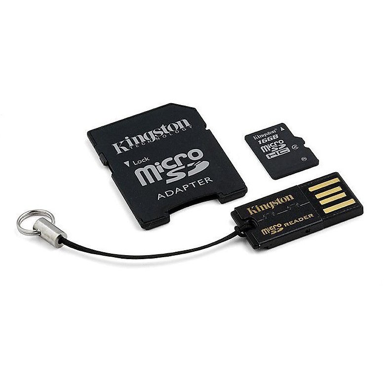 Memory card 16gb multi kit mobility kit