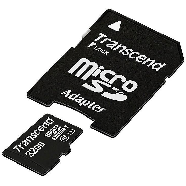 Memory card 32gb microsdhc u1 w/adapter
