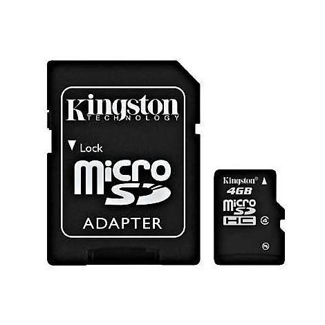 Memory card 4gb micro sd hc card class 4