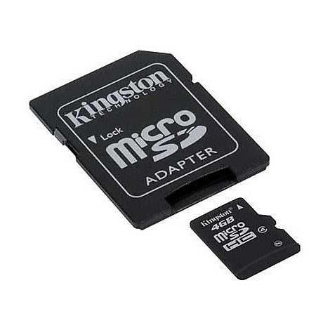 Memory card 4gb micro sd hc card class 4