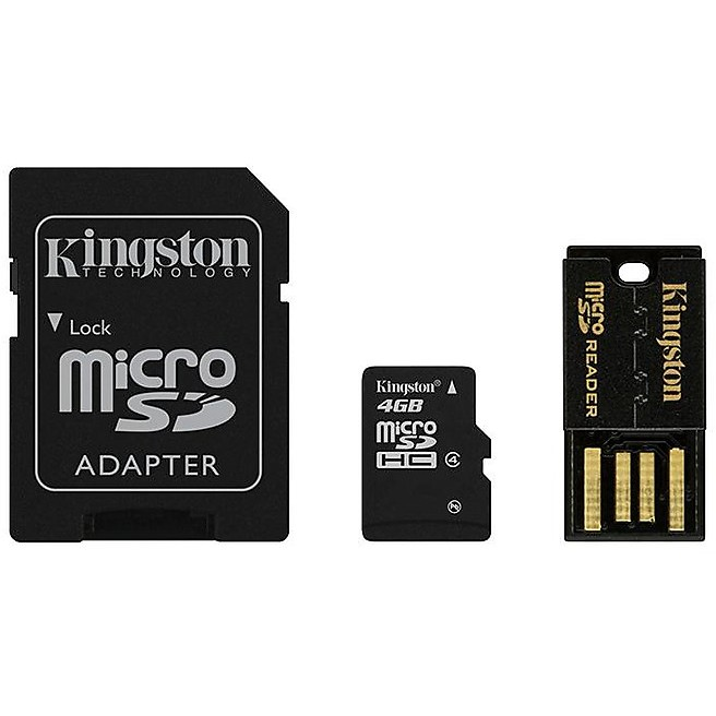 Memory card 4gb multi kit mobility kit