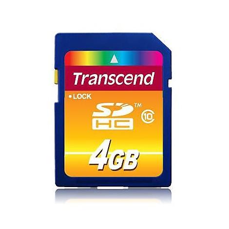 Memory card 4gb sdhc class 10