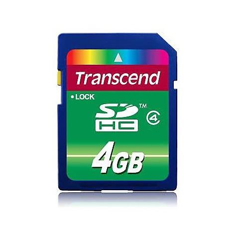 Memory card 4gb sdhc class 4