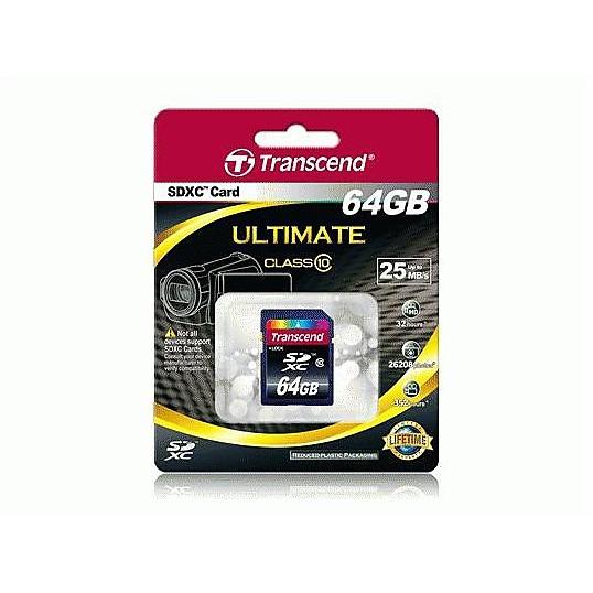 Memory card 64gb sdxc c10