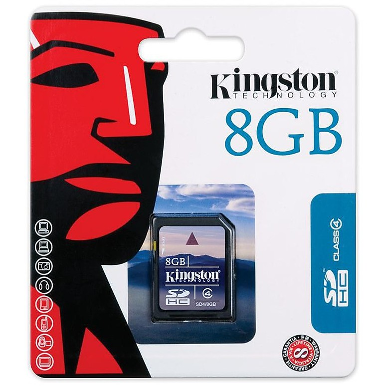 Memory card 8gb sdhc card class 4