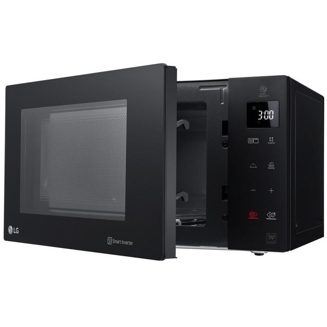 Mh6535gps lg forno a microonde combinato 25 litri smart inverter colore nero cottura forni - Forno microonde combinato ...