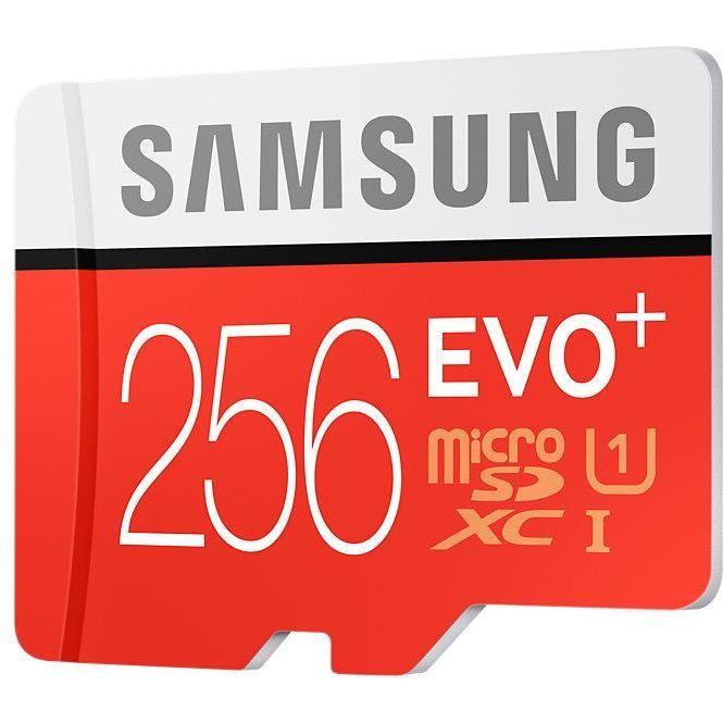 micro sd evo plus 256gb