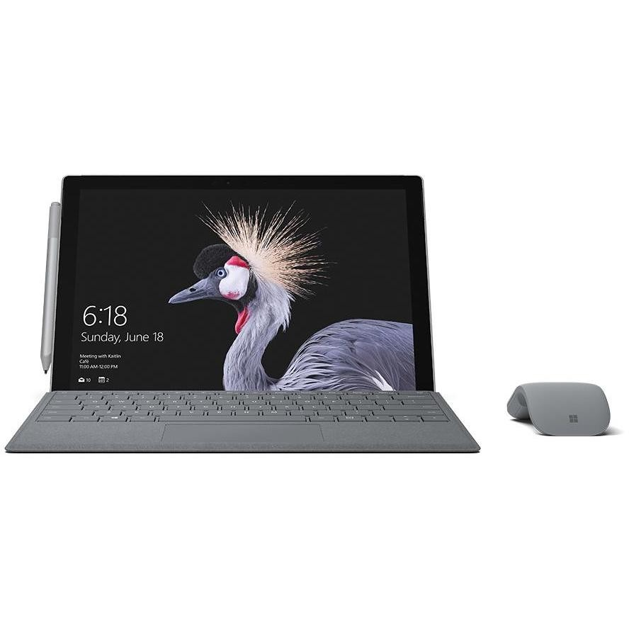 "Microsoft Surface Pro Tablet 12,3"" memoria 128 GB Ram 4 GB Windows 10 Pro colore Grigio"