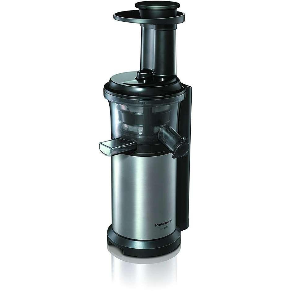 mjl-500sxe panasonic estrattore slow juicer 150w 45giri/min. acciaio