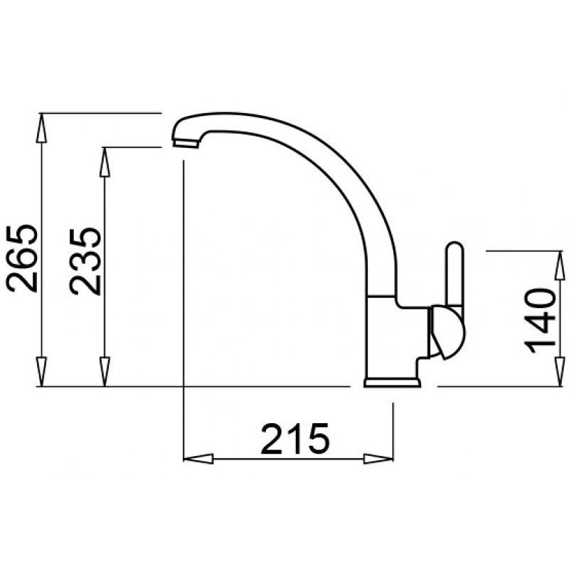 mmkpo79 elleci miscelatore po aluminium 79