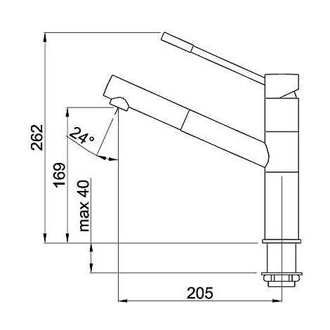 mmkren73 elleci miscelatore reno titanium 73