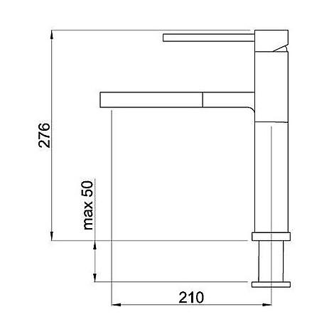 mmksun73 elleci miscelatore sunny tekno titanium 73
