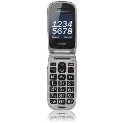 BRONDI Mobile phone Amico flip 3 black dual sim