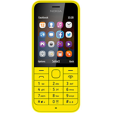 NOKIA Mobile phone nokia asha 220 dual sim yellow
