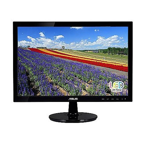 Monitor led 18.5 pollici wide 1366x768 vga