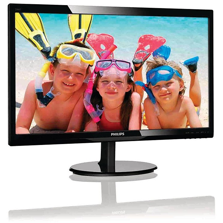 Monitor LED 24 pollici Philips 246v5lsb