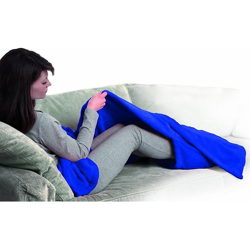 morby-911db macom coperta blu con tasca per i piedi - cura corpo
