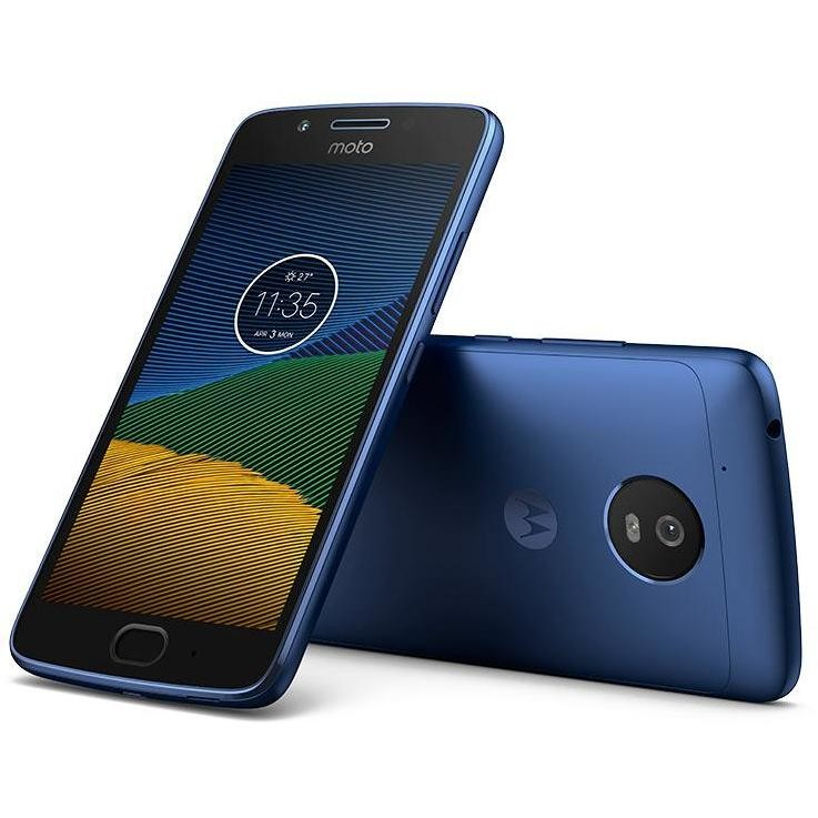 "Motorola Moto G5 TIM Smartphone 5"" memoria 16 GB Fotocamera 13 MP 4G LTE Android colore Blu"
