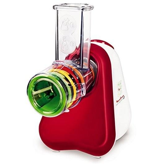 Moulinex DJ755G Fresh Express + tritatutto potenza 150 Watt colore bianco e rosso