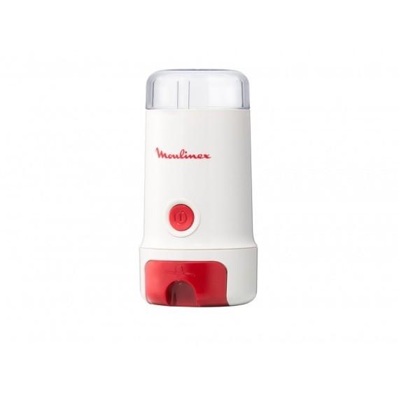 Moulinex MC3001 macinacaffè potenza 180 watt capacità 80 grammi colore bianco e rosso
