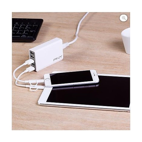 multi usb charger 5 porte 25w