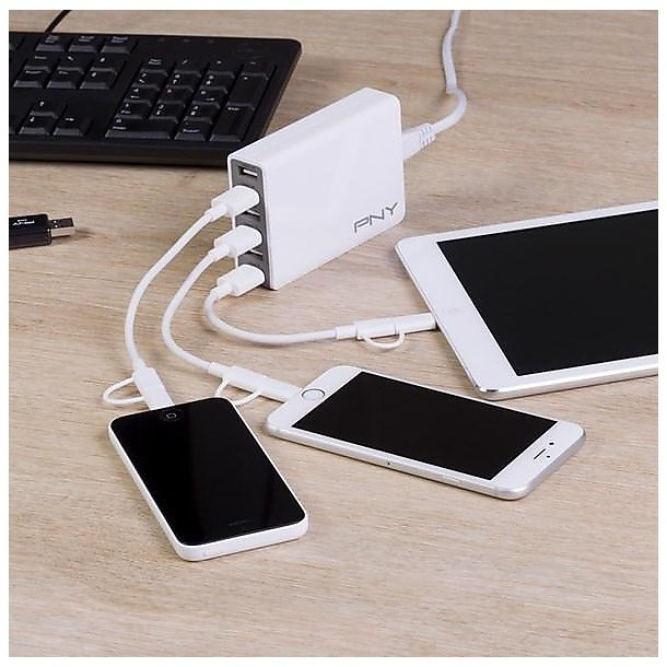 multi usb charger 6 porte 50w