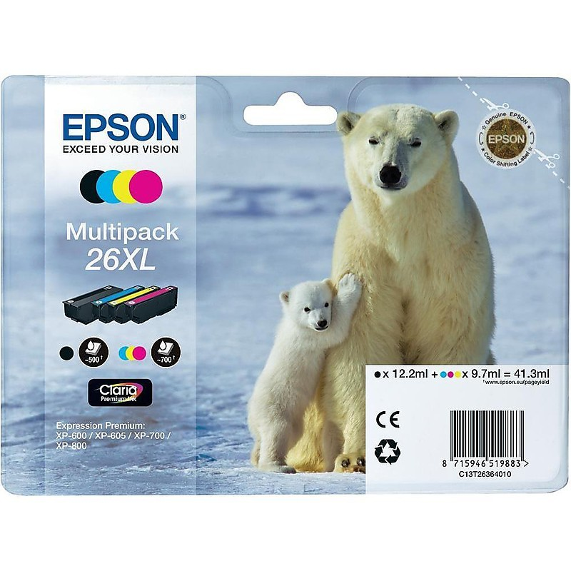 multipack 26xl 4pz orso polare