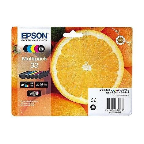 multipack 33xl arancia n.5 colori