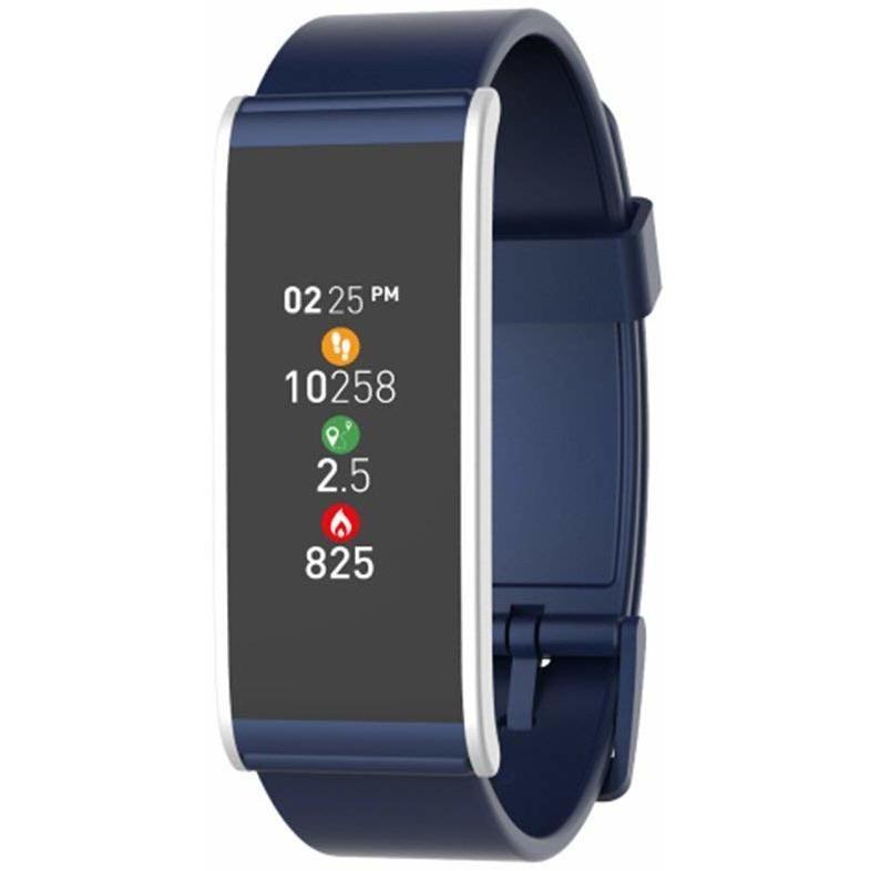 "Mykronoz Zefit 4 Smartwatch Activity Tracker Display 1,06"" Touschscreen Bluetooth colore Blu,Silver"