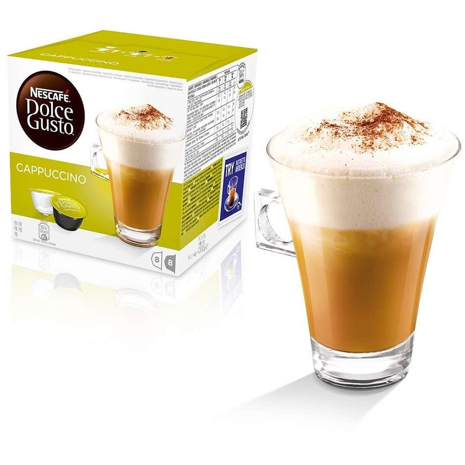 Nestlè 16 capsule dolce gusto cappuccino