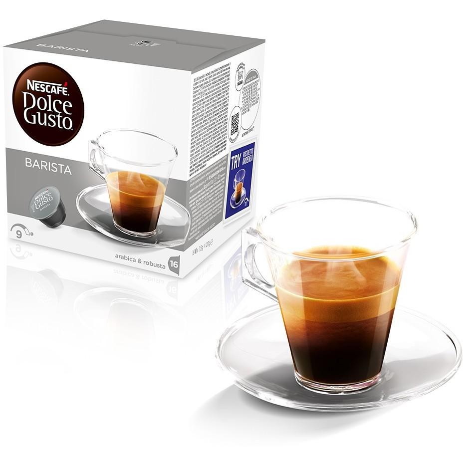 Nestlè 16 capsule dolce gusto espresso barista