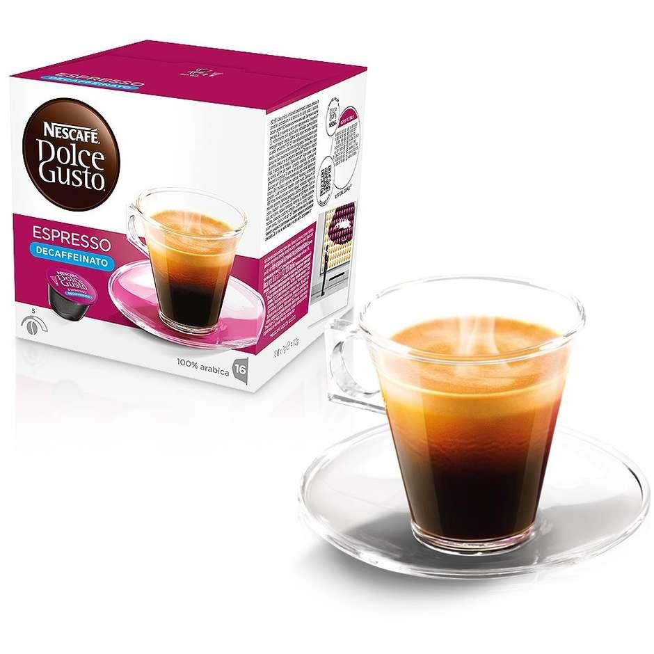 Nestlè 16 capsule dolce gusto espresso decaffeinato