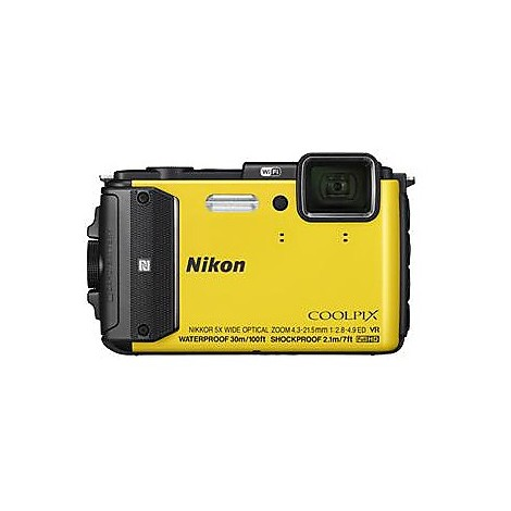 ni coolpix aw130 yellow