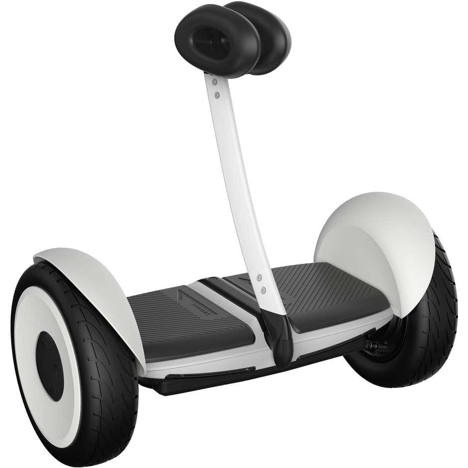 Ninebot Segway Mini Lite Hoverboard con asta 700 W 2 motori colore Bianco e Nero