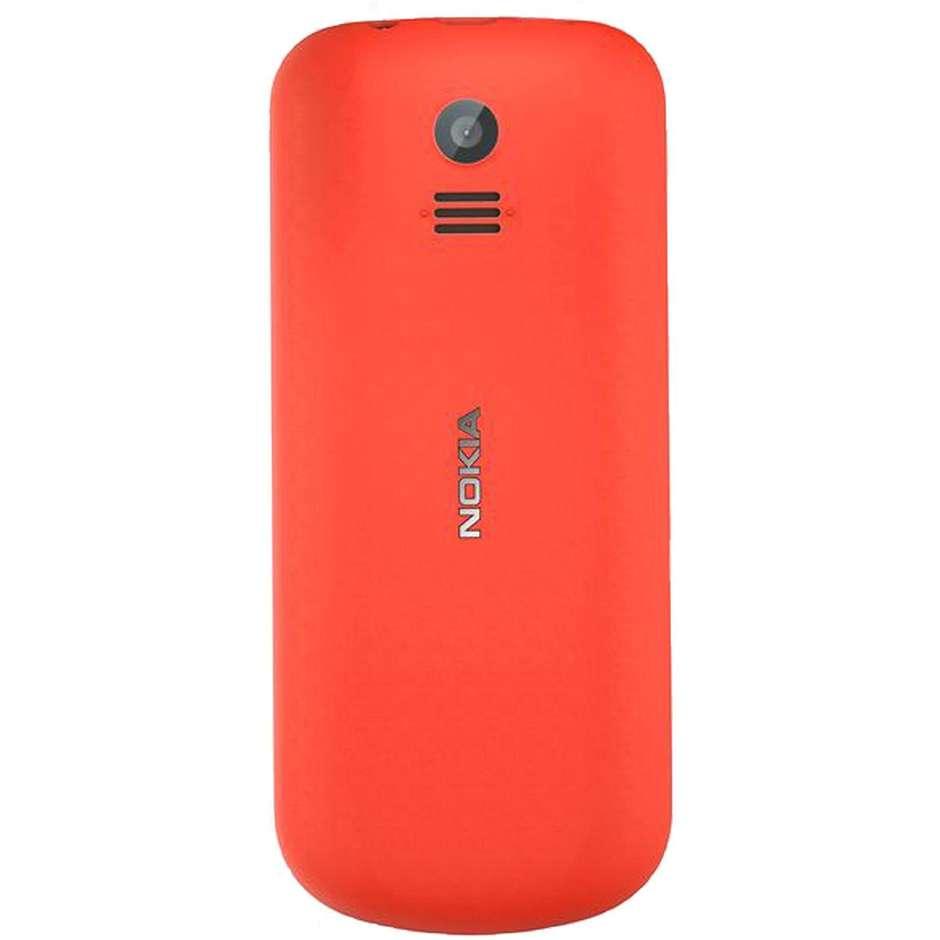 "Nokia 130 2017 Telefono cellulare Dual Sim Display 1,8"" memoria 8 MB colore Rosso"