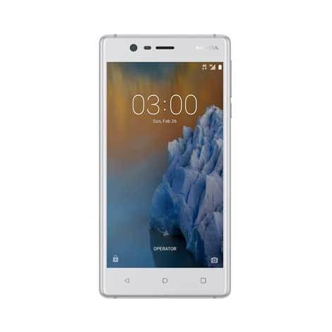 Nokia 3 colore Bianco Smartphone Dual sim