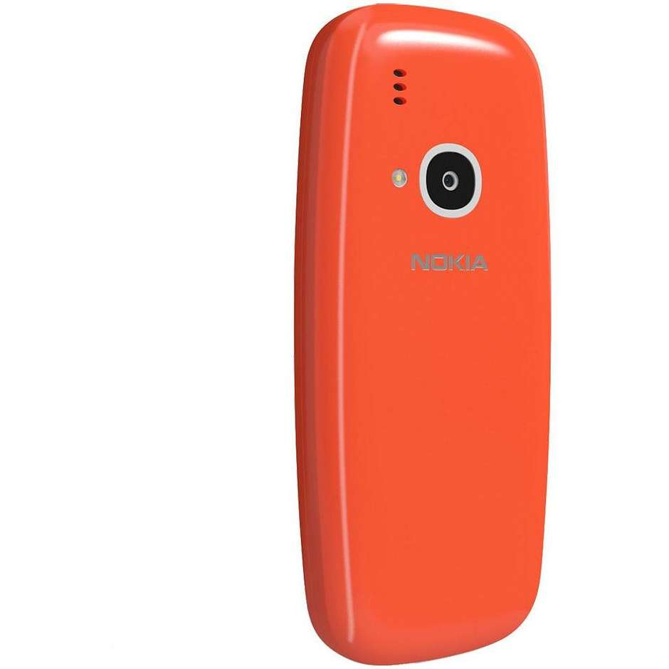 """Nokia 3310 telefono cellulare 2,4"""" 3G dual sim fotocamera 2 Mpx colore rosso"""
