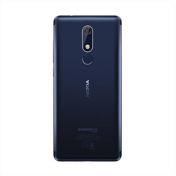 "Nokia 5.1 Smartphone Dual Sim 5,5"" memoria 32 GB Fotocamera 16 MP Android colore Blu"