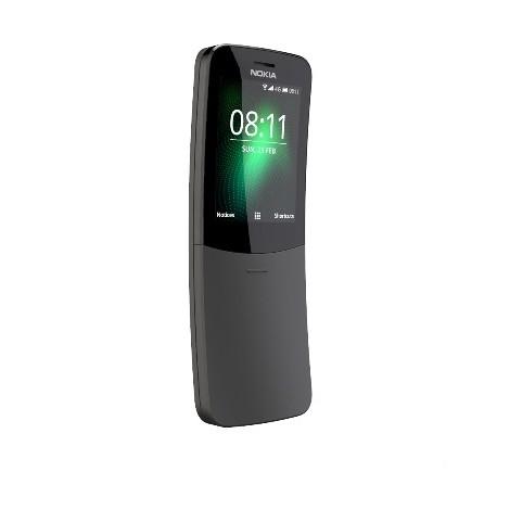 """Nokia 8110 Telefono cellulare 2,45"""" 4G Lte memoria 4GB Bluetooth colore Nero"""