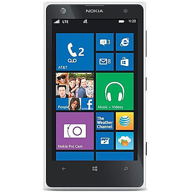 NOKIA nokia lumia 1020 white smartphone windows 8