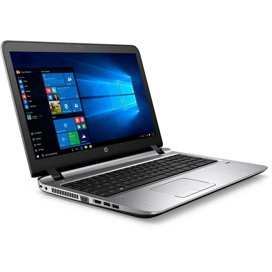 "Notebook HP ProBook 450 G3 15,6"" i56200u Ram 8GB Hard disk 1TB Windows 7-10"