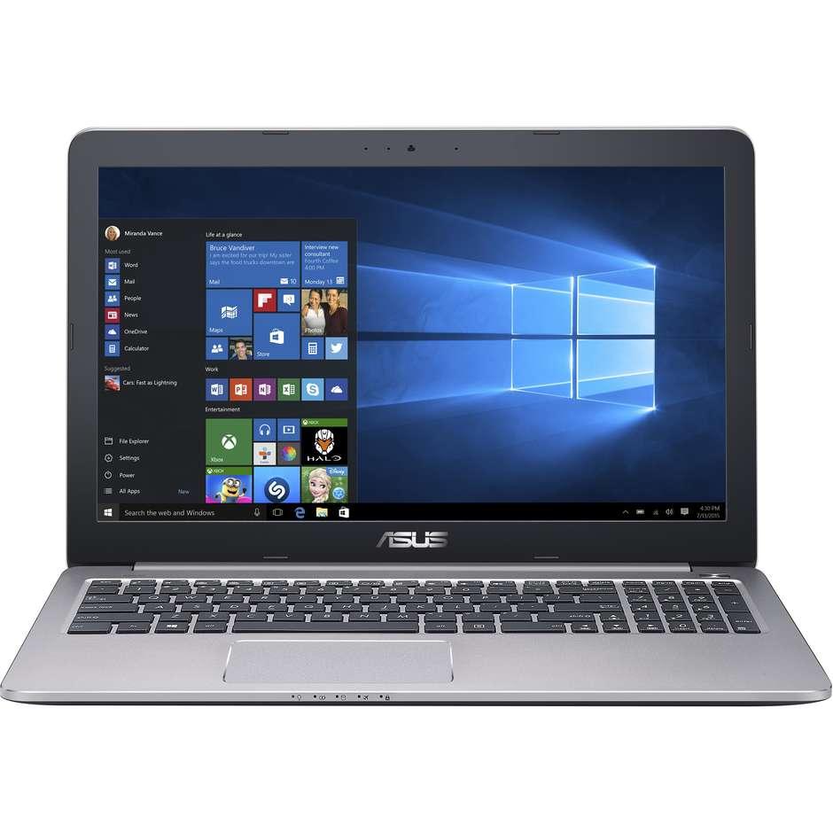 Notebook K501UX-FI116T i7-6500U Ram 16GB Hard disk 1TB Windows 10