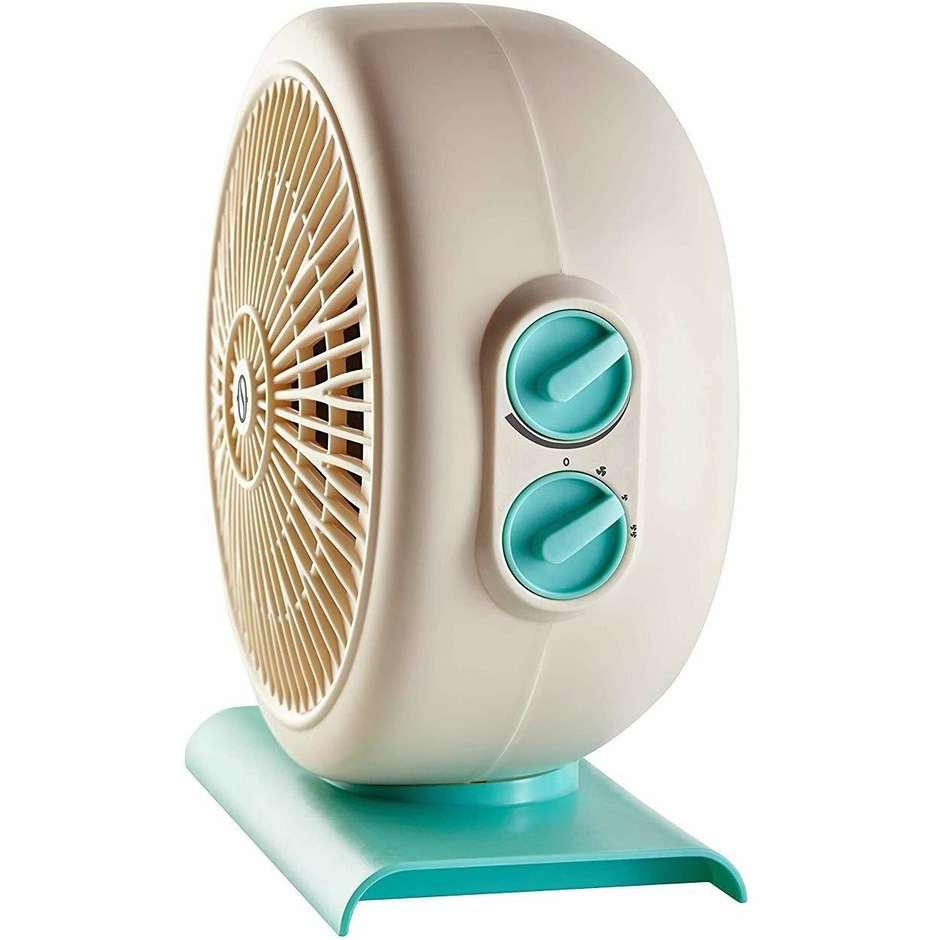 Olimpia Splendid CALDO CIRCLE 20 termoventilatore 3 velocità potenza max 2000 Watt colore bianco e azzurro